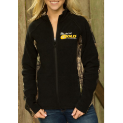 Gamehide Ladies Outfitter Fleece Jacket - PCF-BLM - EMBROIDERED
