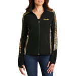 Port Authority® Ladies Camouflage Microfleece Full-Zip Jacket - L230C - EMBROIDERED