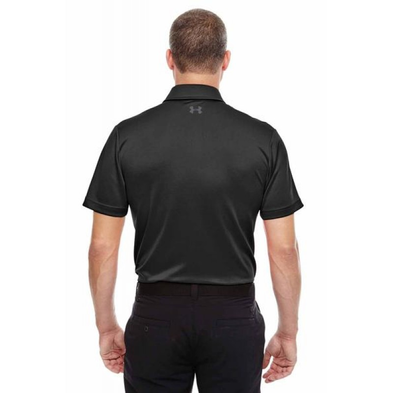 Under armour men 39 s tech polo embroidered 2impress for Under armour embroidered polo shirts