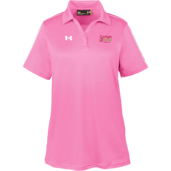 Under Armour Ladies' Tech Polo - 1309537 - EMBROIDERED