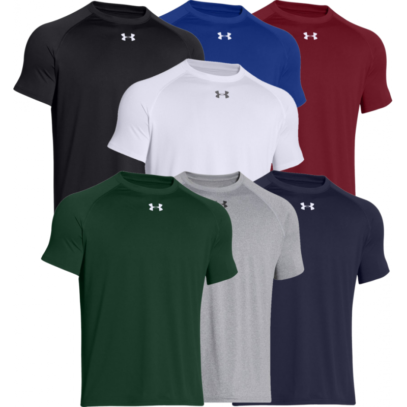 Under armour men 39 s locker t shirt 1268471 screen for Under armour printed t shirts