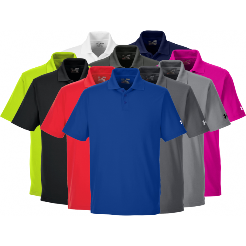 21045047 ... Under Armour Men's Corp Performance Polo - 1261172 - EMBROIDERED ...