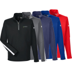 Under Armour Men's Qualifier 1/4 Zip Pullover- 1276312- EMBROIDERED