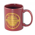Economy Ceramic Mug - COLORS - 11 oz.