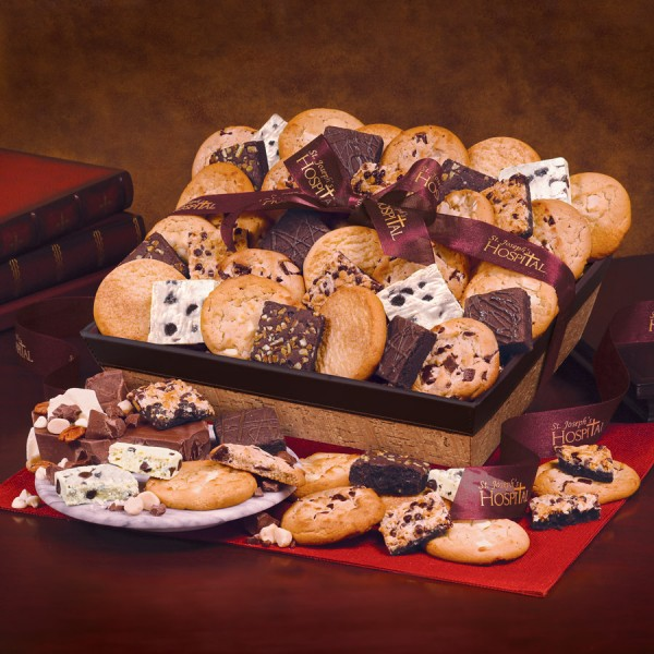 Home-Style Cookie and Brownie Basket