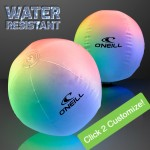 Light Up Beach Ball with Color Change LEDs