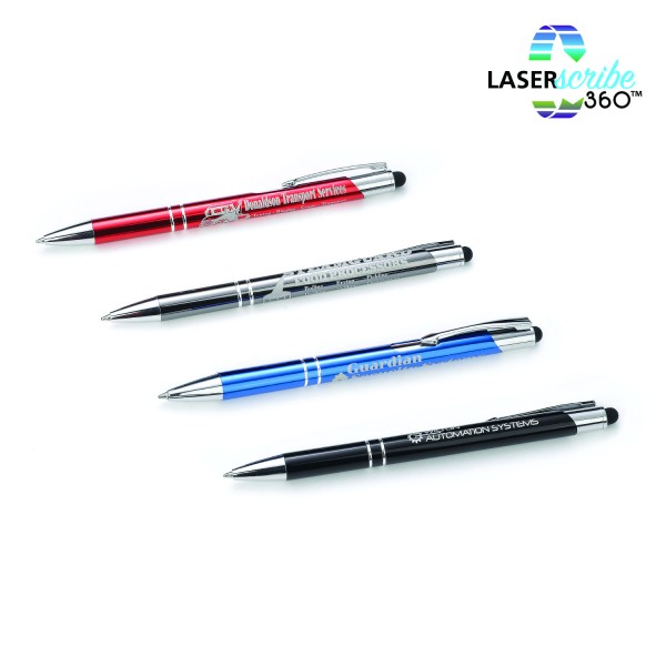 HAMPTON Metal Pen with Stylus
