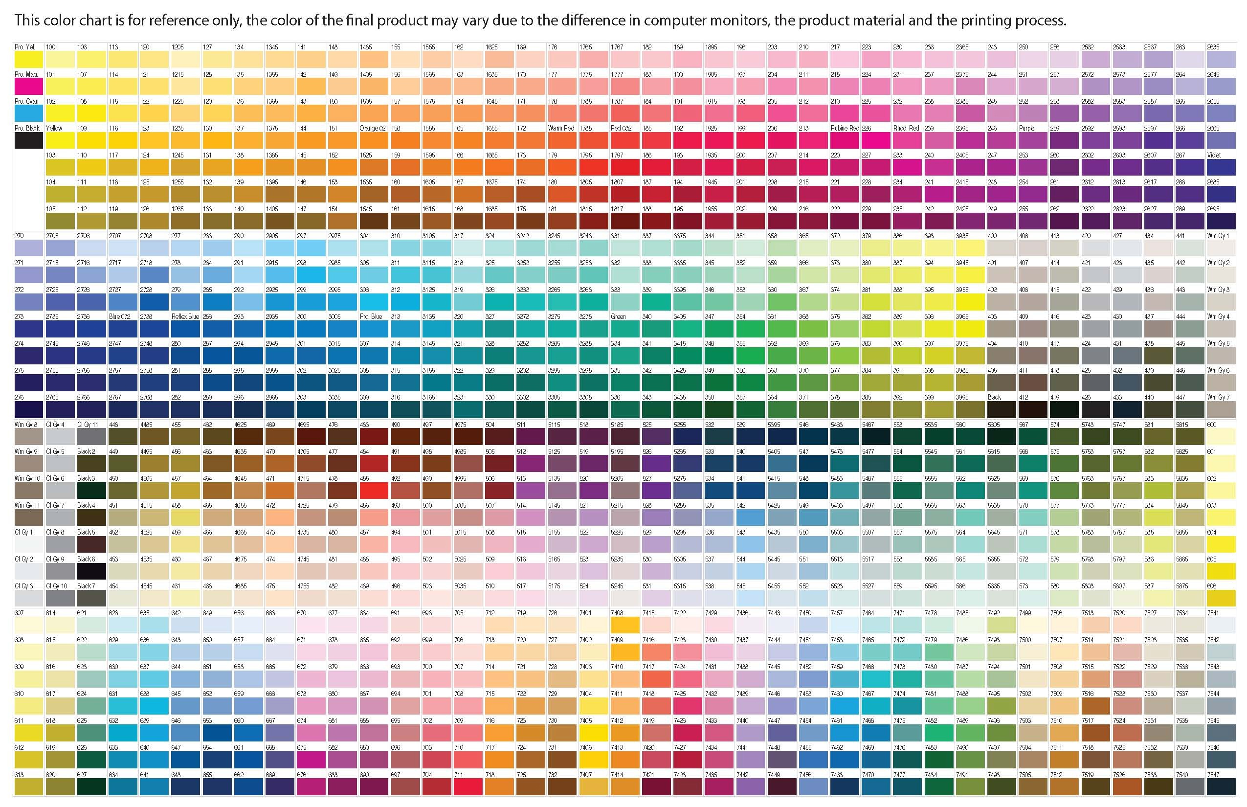 Pms color chart 2impress pantone color chart nvjuhfo Choice Image